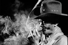 "Clarence ""Gatemouth"" Brown (April 1924 – Sept 2005) January 1990"