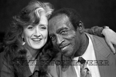 Bonnie Raitt & Charles Brown, San Francisco, California, January 1992
